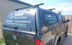 Radar Pest Control Sunshine Coast Vehicle